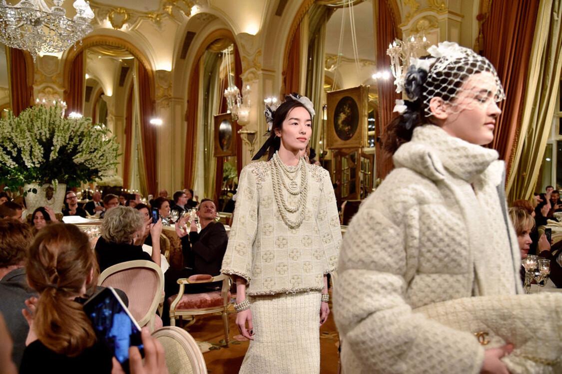 Chanel Métiers d'Art в Париже