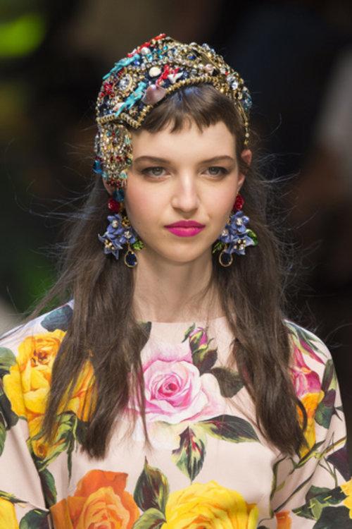 Мария Карла на показе Dolce&Gabbana