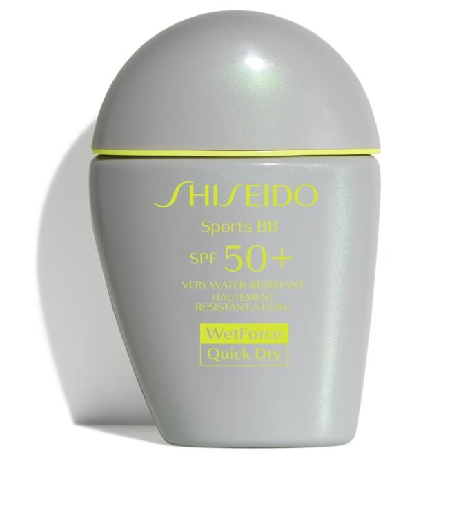 Солнцезащитное супер-водостойкое средство Sports BB, Shiseido, SPF50