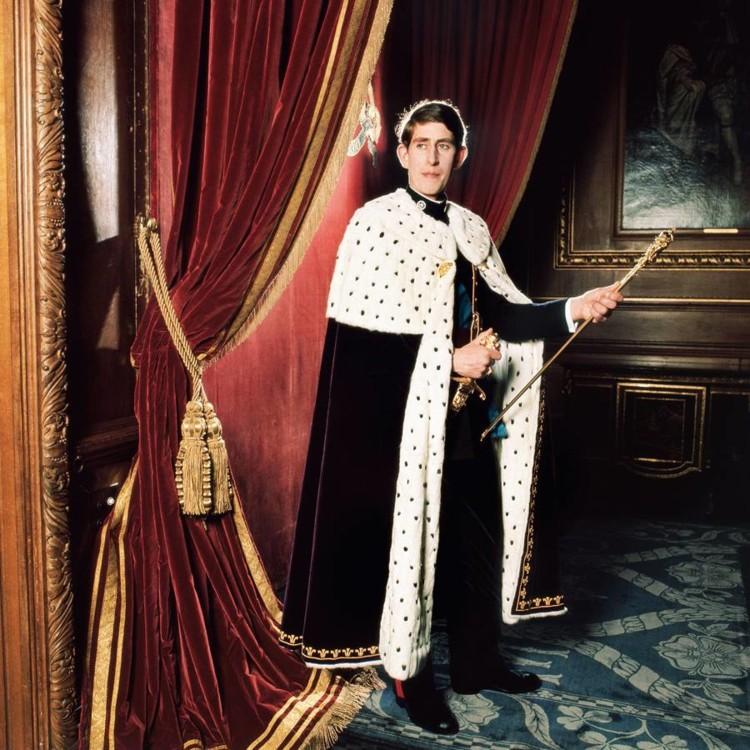 Принц Уельський, 1969. Фото зроблено в замку Карнарвон, в Уельсі в честь 21-го дня народження принца