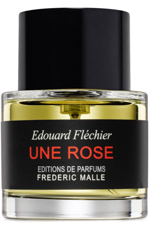 Une Rose, Frédéric Malle с нотами красного вида, меда, трюфелей, роз и герани