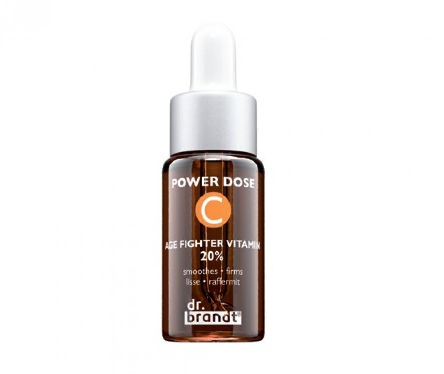 Сыворотка с витамином С в высокой концентрации (20%) Power Dose Age Fighter Vitamin С 20%, Dr. Brandt