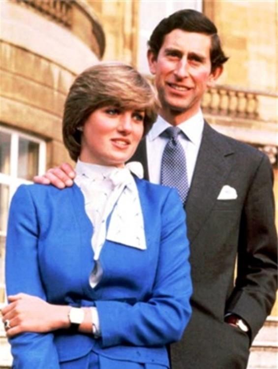 С принцем Чарльзом, Лондон, 1984 год