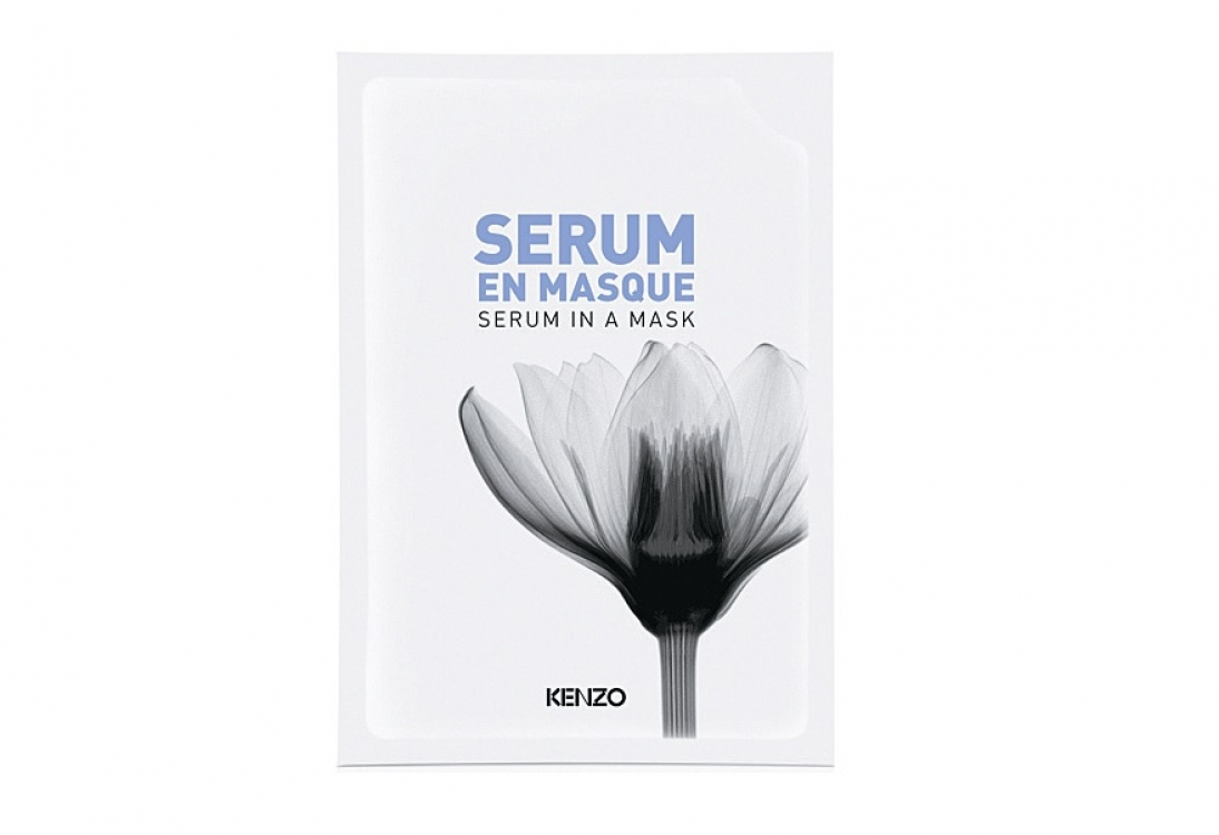 Маска с сывороткой Serum In A Mask White Lotus, Kenzoki