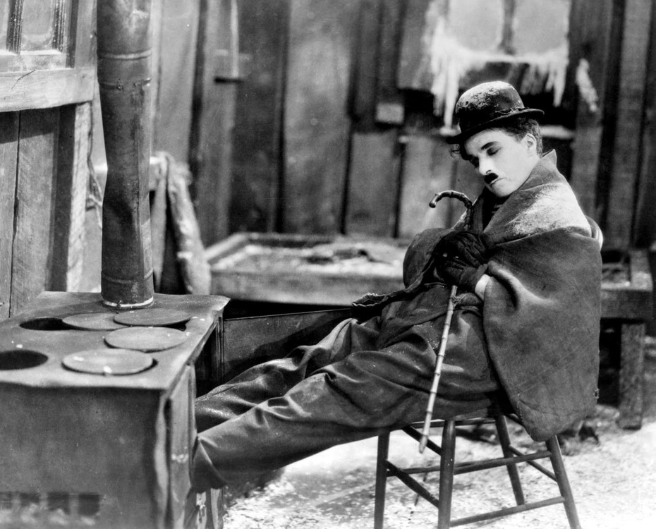 """кадр из фильма """"Золотая лихорадка"""", 1925"""