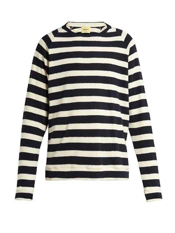 Хлопковый свитер De Bonne Facture