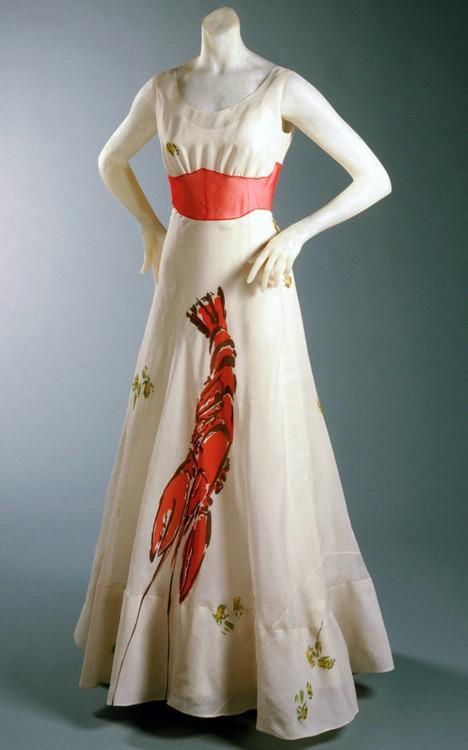 Платье-лобстер