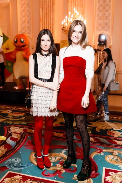 Полина Габович и Татьяна Богдан