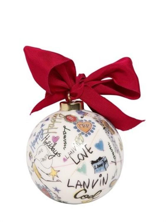Елочный шар Lanvin