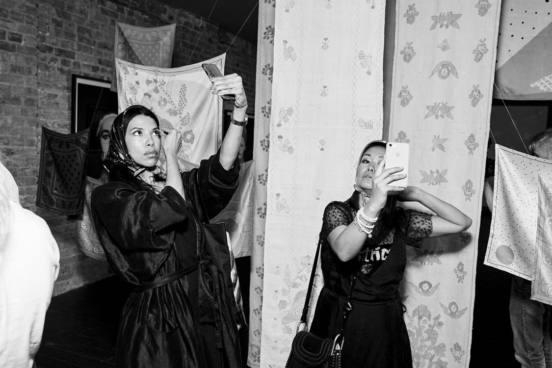 Каролина Ашион и Лида Петрова