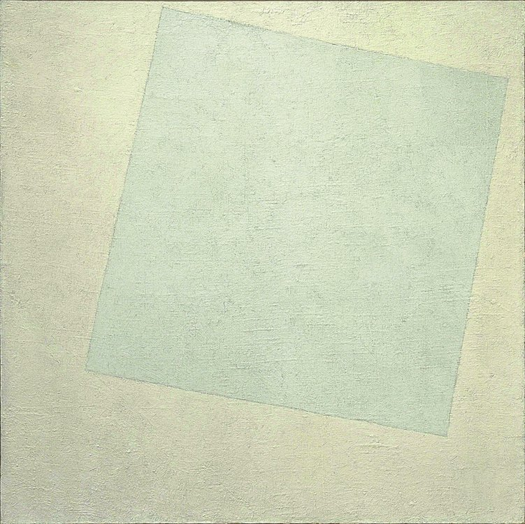 «Белое на белом», Казимир Малевич, 1918