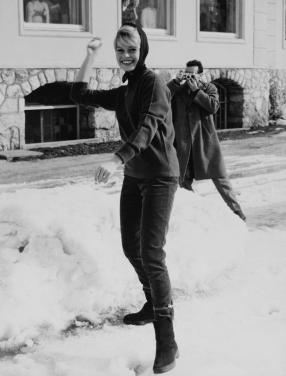 Брижит Бардо в Италии, 1958 год