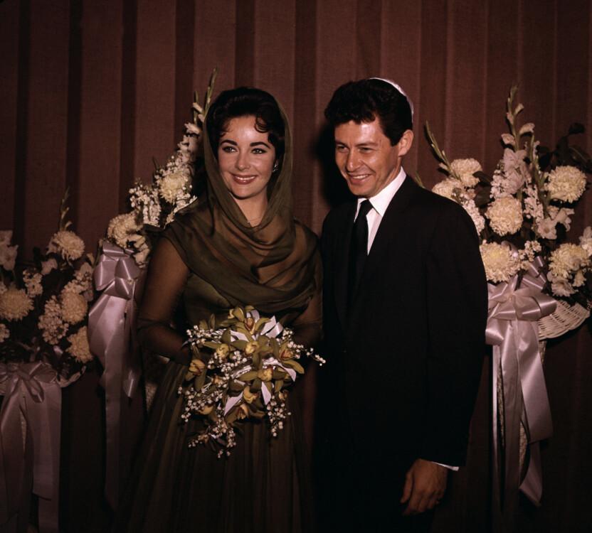 Свадебный образ Элизабет Тейлор, 1959