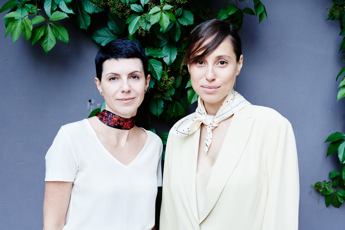 Марина Щербенко и Наталья Каменская