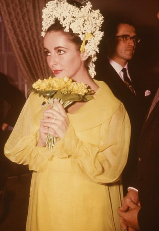 Свадебный образ Элизабет Тейлор, 1964