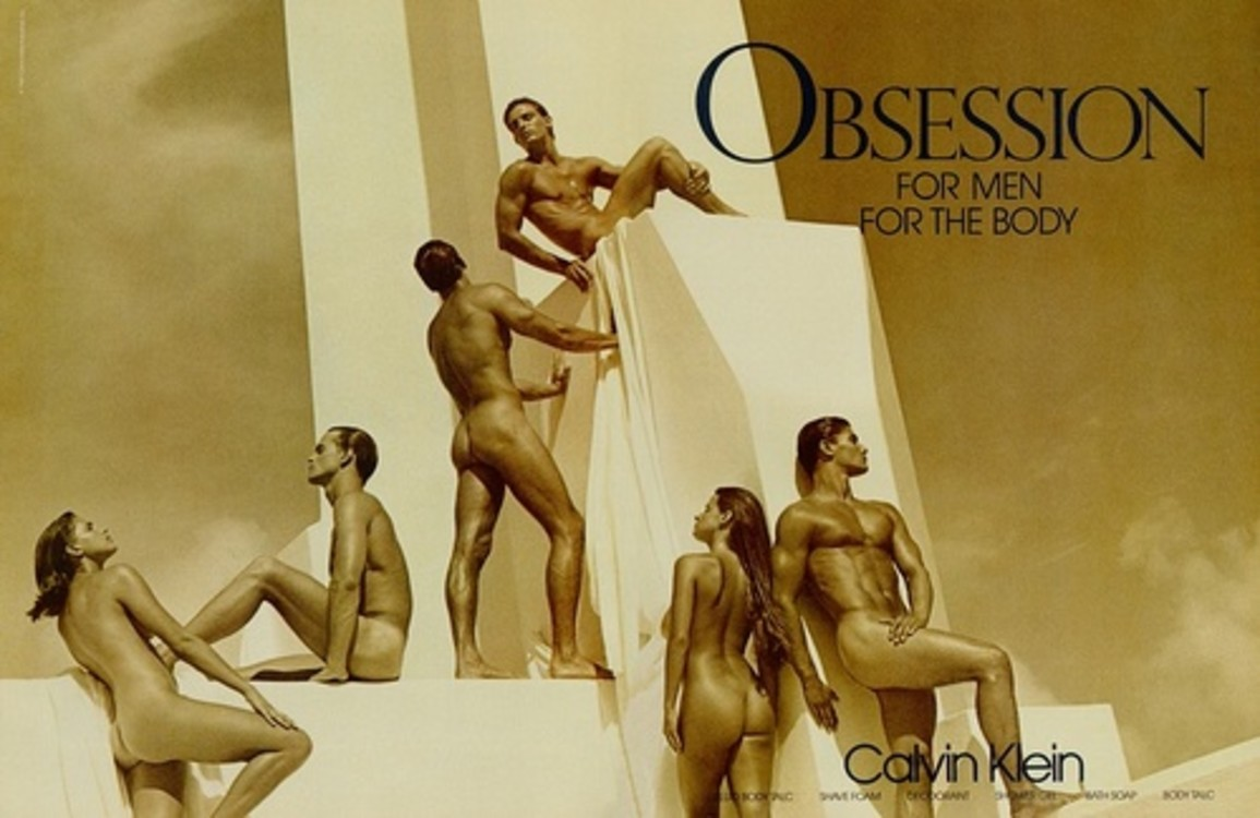 Calvin Klein Obsession весна-лето 1987