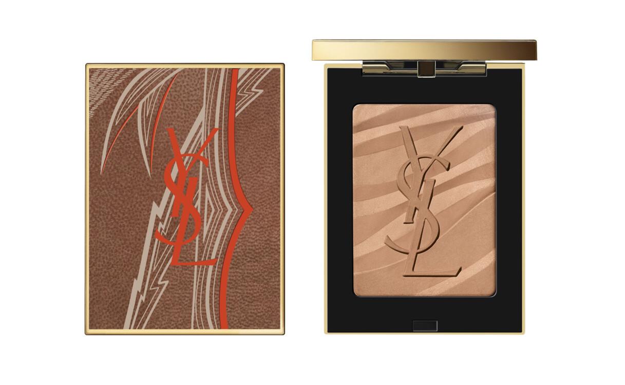 Шелковисто-матовый бронзер Bronzing Stone №1 Light, YSL Beaute, лимитированный выпуск