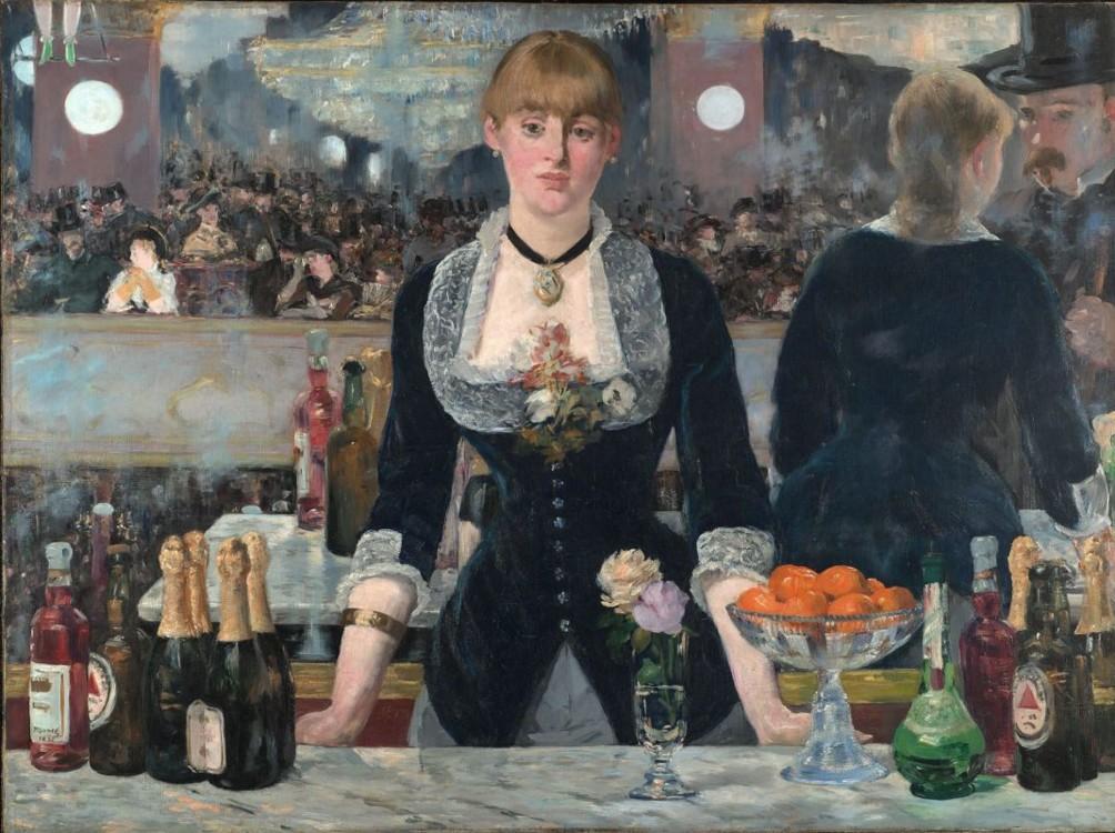 «Бар у Фолі-Бержер», 1882 (Інститут мистецтва Курто, Лондон)