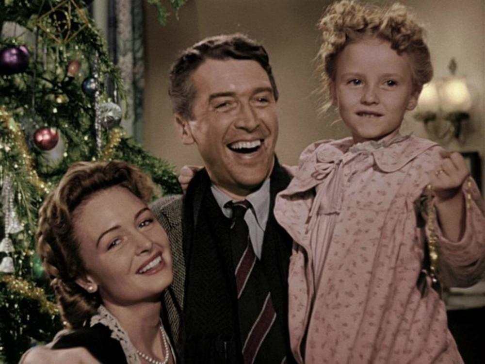 """Кадр з фільму """"Це дивовижне життя"""", 1946"""