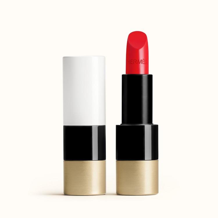 Помада Rouge Hermes, Satin lipstick №64 Rouge Casaque, Hermes