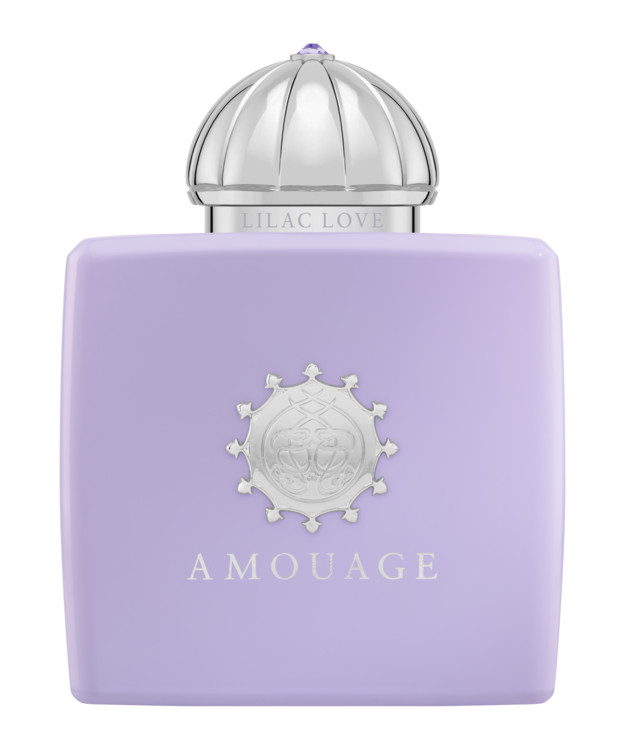 Lilac Love, Amouage с нотами ванили, какао и бобов тонка, гелиотропа и гардении