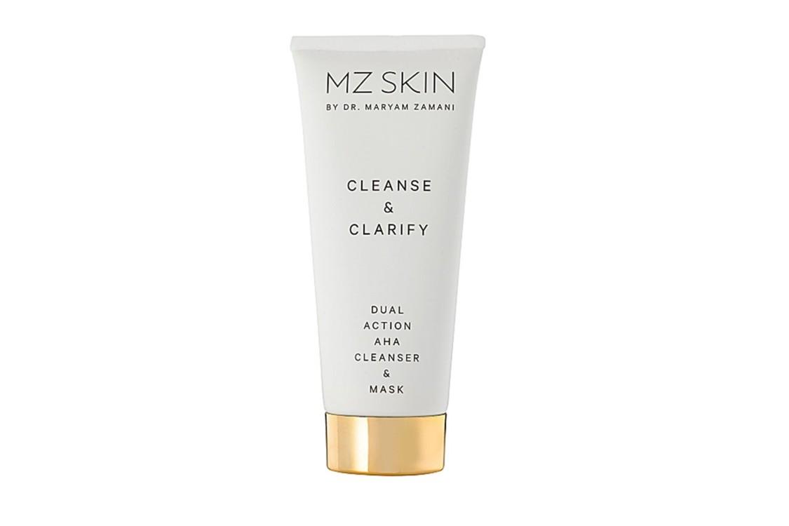 Средство для умывания, которое можно использовать как маску, с АНА-кислотами MZ Skin Cleanse & Clarify Dual Action AHA Cleanser And Mask
