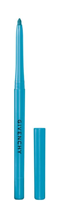 Водостойкий карандаш для глаз Khôl Couture Waterproof № 10 Azur из летней коллекции макияжа Solar Pulse, Givenchy