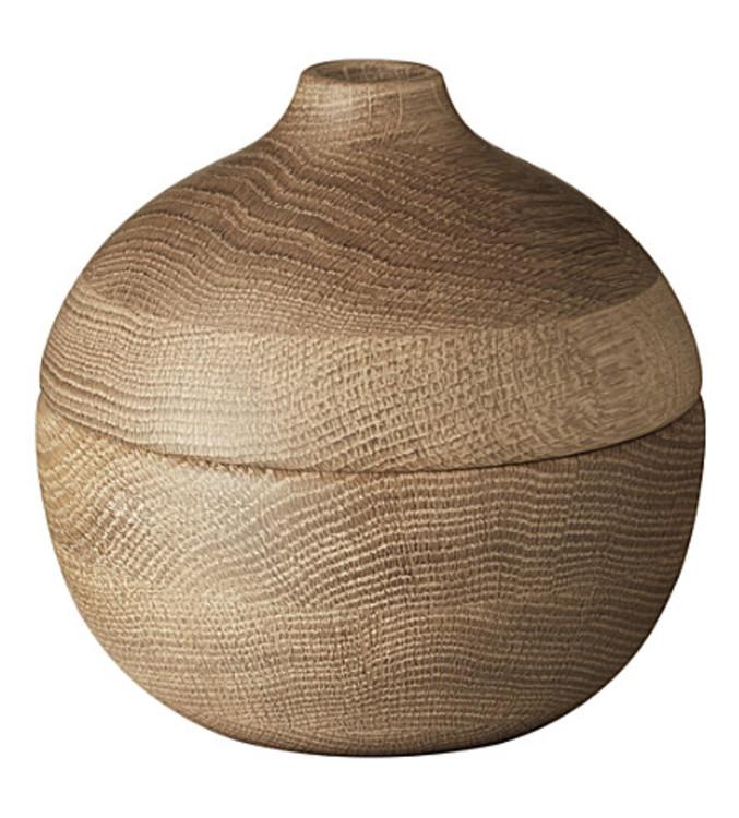 Деревянная ваза дизайна Хеннинга Коппеля (georgjensen.com)