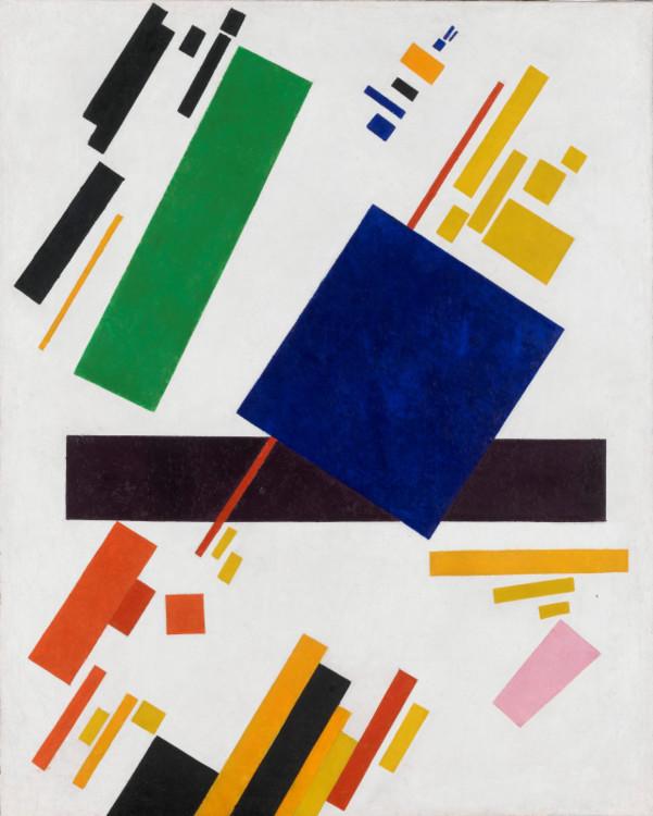 «Супрематическая композиция», 1916 (Частная коллекция)