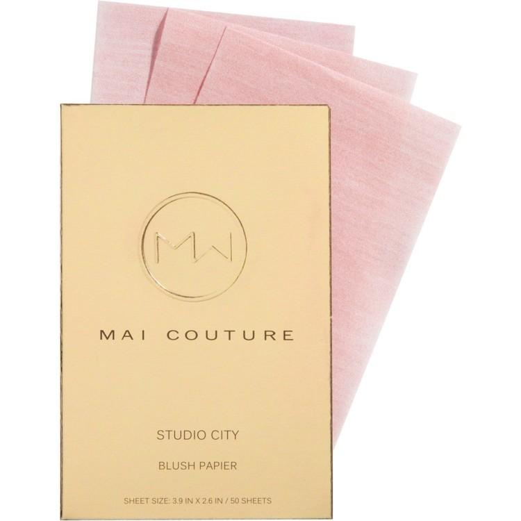 Матирующие салфетки-румяна, Mai Couture
