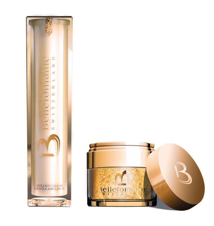 Средства из серии Golden Caviar: крем и нежная эмульсия, Bellefontain