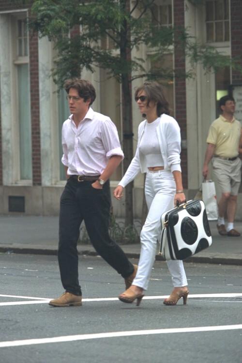 Хью Грант и Элизабет Херли, 1995