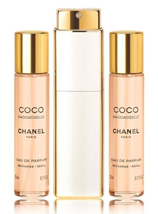 Парфюмерная вода Coco Mademoiselle Twist and Spray, 3х20 мл, Chanel