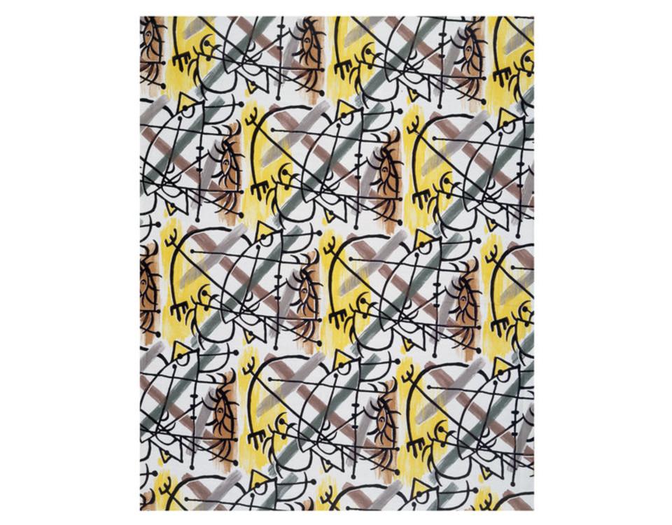 "Ткань Пикассо ""Length"", 1956 год"