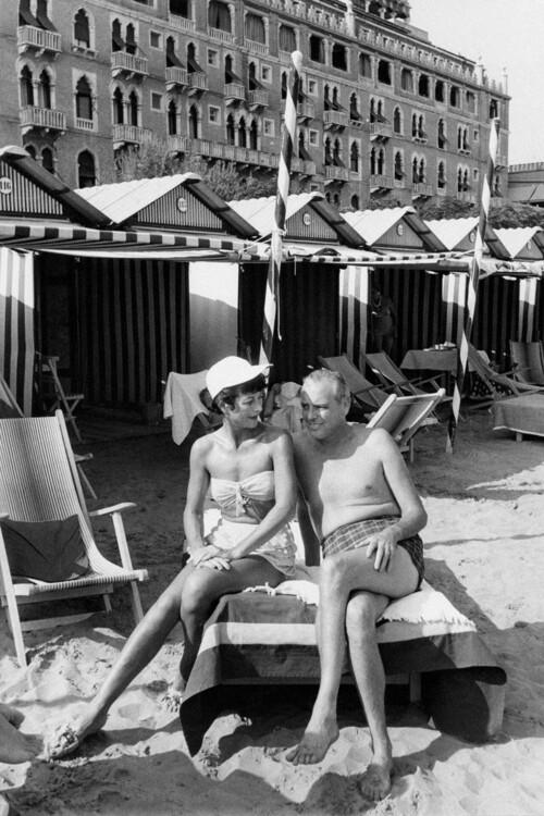 Хеди Ламарр и В. Говард Ли, 1955