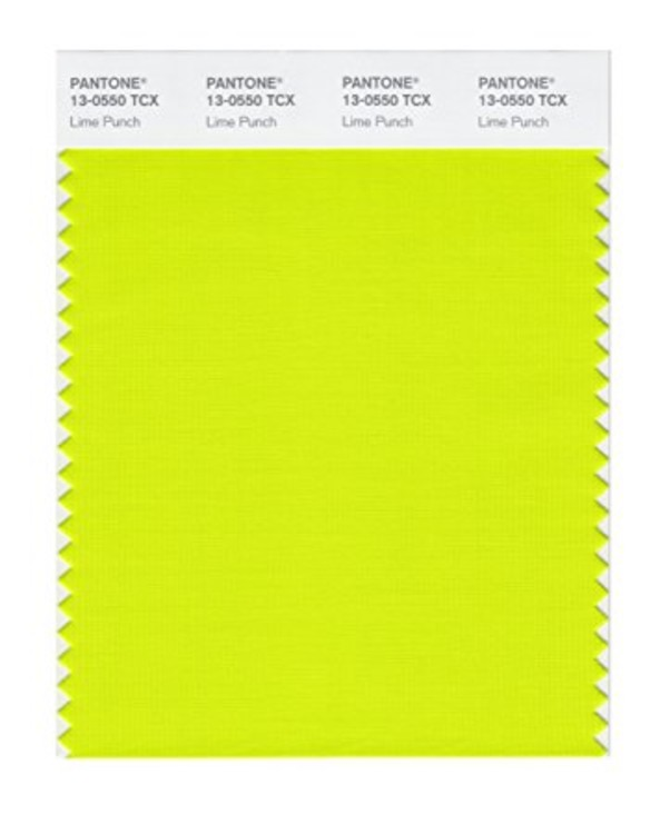 "PANTONE 13-0550 ""Lime Punch"""