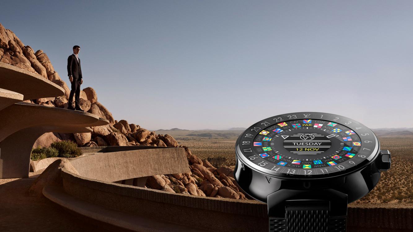 Louis Vuitton выпустил роскошные смарт-часы за3 тыс. долларов