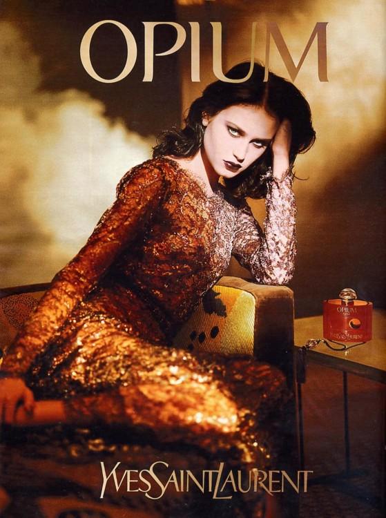 Opium Yves Saint Laurent, 1993