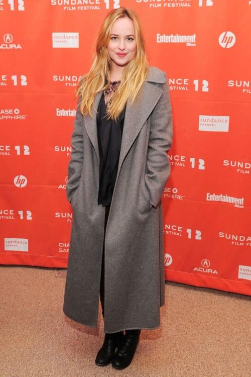 """На премьере фильма """"Козы"""" во время кинофестиваля Sundance, 2012 год"""