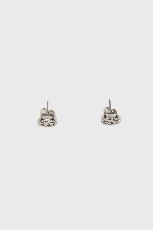 Серьги, латунь, кристаллы Swarovski, Tory Burch