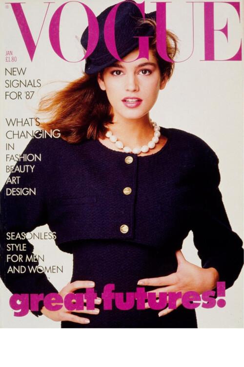 Vogue British, январь 1987