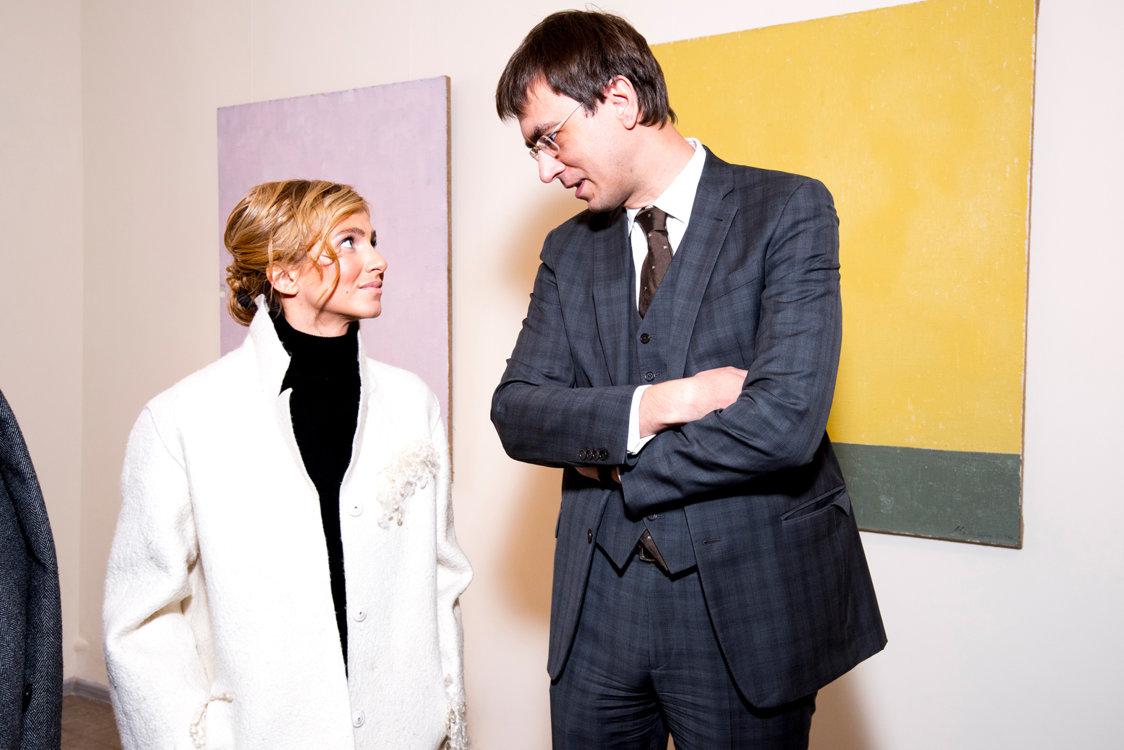 Елизавета Юрушева и Владимир Омелян