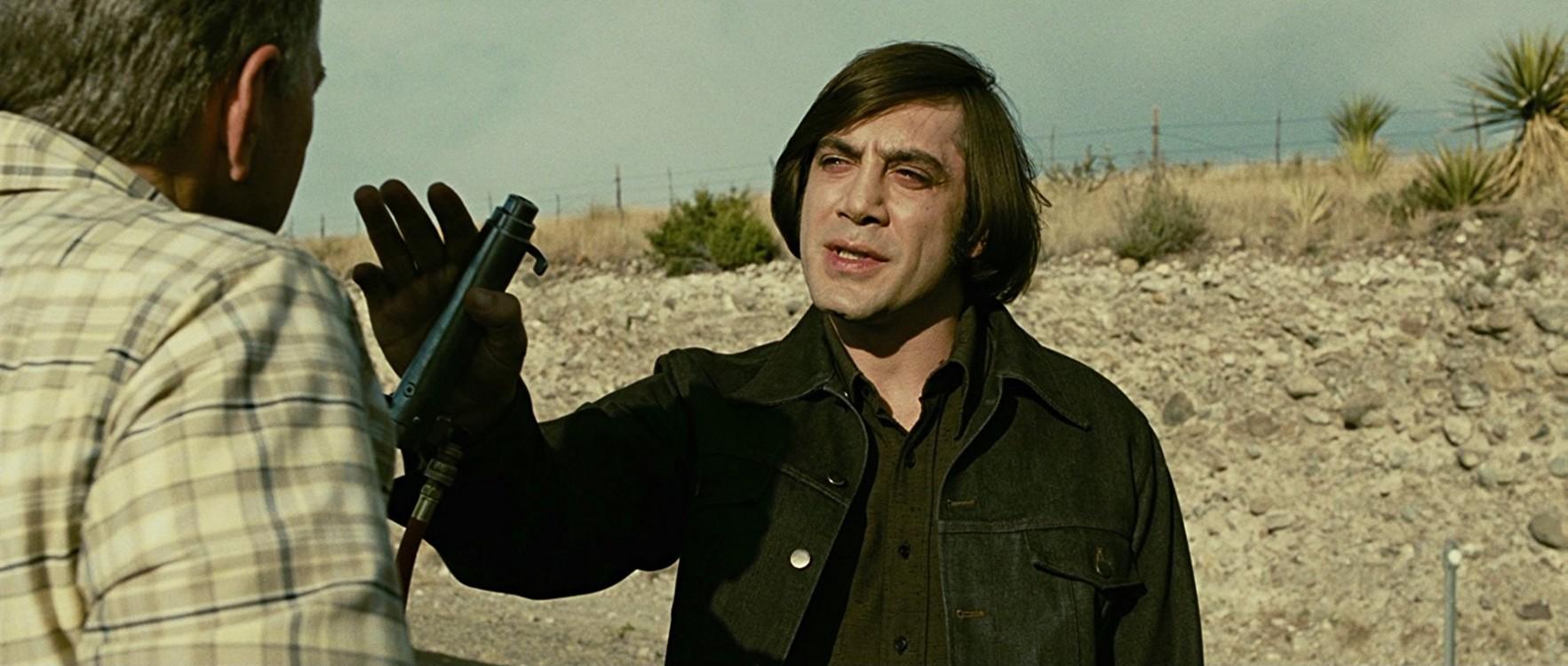 Хавьер Бардем в фильме «Старикам тут не место», 2007