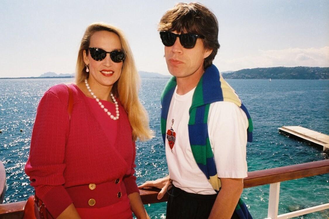 Джеррі Голл і Мік Джаґґер, 1991