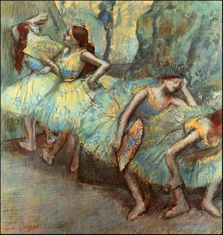 «Балет. Танцоры в крыльях», 1895
