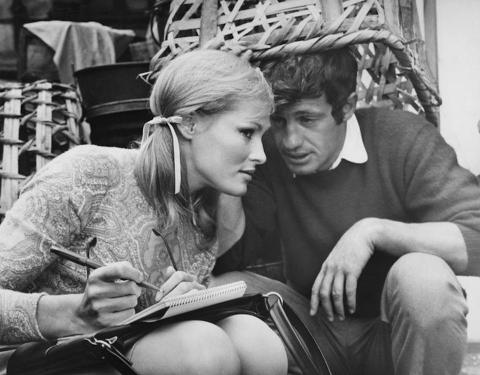 Урсула Андресс и Жан-Поль Бельмондо, 1965