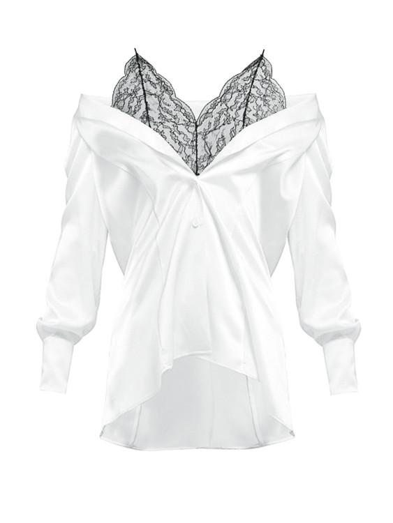 Шелковая блуза, Maison Margiela