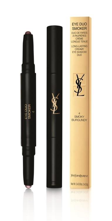 Двойной карандаш-тени для глаз Eye Duo Smoker № 2 Smoky Green, YSL Beauté