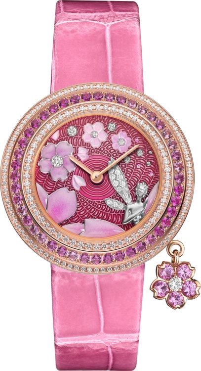 Часы Van Cleef & Arpels, Charms Extraordinaire Fée Sakura