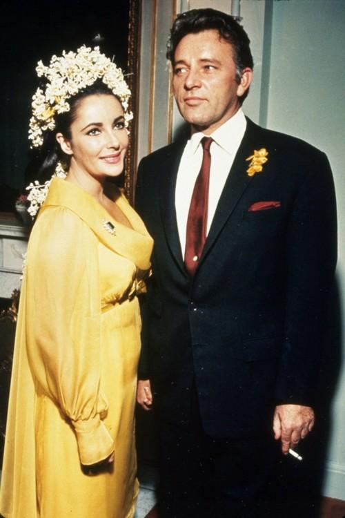 Элизабет Тейлор и Ричард Бёртон, 1964